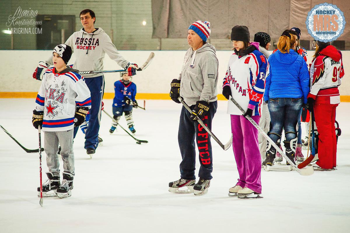 Ледовая Эстафета «Мама, Папа, Я — Хоккейная семья» 2017