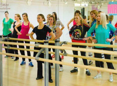 Репетиция танцев MRS HOCKEY 2016