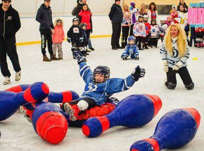 """Ледовая Эстафета """"Мама, Папа, Я – Хоккейная семья"""""""