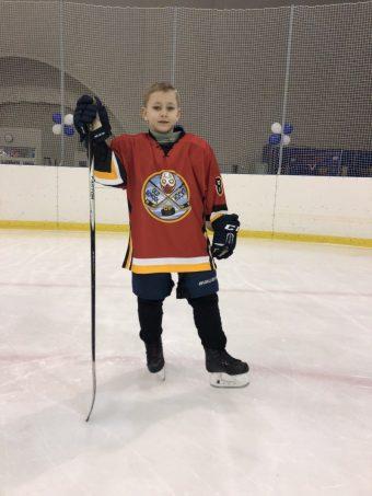 Абрамов Федор, 2010 г.р., команда Old School of Hockey